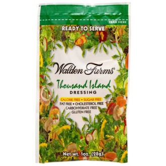 Walden Farms - Thousand Island Dressing 6 x 28g = 168g (6 OZ)