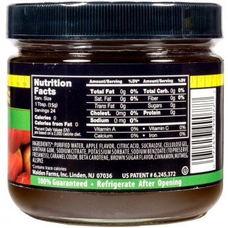 Walden Farms – Apple Butter Fruit Spread 340g (12 OZ)